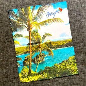 🌺 Rare XXL Maui Jim Sunglasses Microfiber Cloth